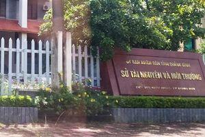 Sở Tài nguyên và Môi trường Quảng Bình bị kẻ trộm đột nhập
