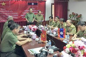 CATP Đà Nẵng thăm, làm việc với Sở An ninh tỉnh Champasak (Lào)