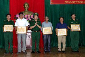 Ngày Biên phòng toàn dân đã được triển khai sâu rộng tại Kon Tum