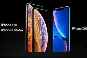 Thông s pin ca b 3 Apple iPhone XS, XS Max và XR