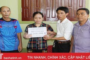 Vietcombank hỗ trợ xây nhà tình nghĩa cho người khiếm thị