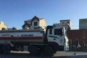 Hải Phòng: Hai thanh niên chết thảm do va chạm với xe chở xăng dầu