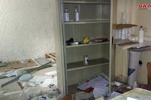 Điều bất ngờ bên trong bệnh viện dã chiến của phiến quân mới được phát hiện ở Syria