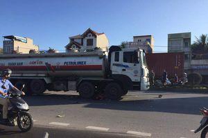 Hải Phòng: Hai người đàn ông chết thảm dưới gầm xe bồn