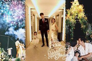 Gubgib hạnh phúc đón sinh nhật lần thứ 30 bên chồng Bie và con gái Paopao