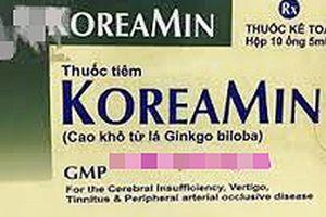 Không đạt tiêu chuẩn chất lượng, lô thuốc tiêm Koreamin bị thu hồi