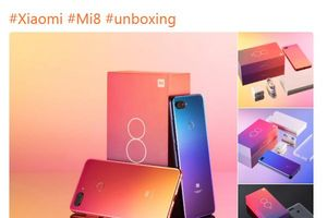 Phát ngôn viên của Xiaomi đăng ảnh đập hộp Mi 8 Lite, xác nhận sẽ được phát hành toàn cầu