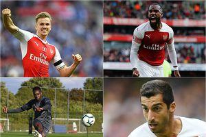 Đội hình Arsenal trận gặp Vorskla: Đại tiệc ở Emirates