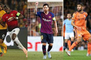 Đội hình tiêu biểu Champions League: Messi, Pogba 'tiếp đạn' cho Fekir