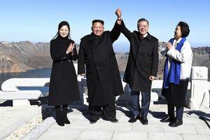 Tổng thống Hàn Quốc thăm núi Paektu linh thiêng của Triều Tiên