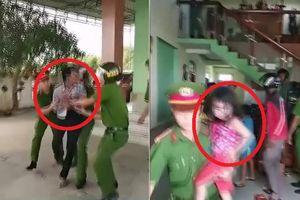 Clip: Nghẹt thở giải cứu 3 đứa trẻ suýt bị bố đẻ thiêu chết ở Quảng Bình