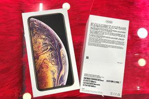 Ảnh iPhone XS Max đầu tiên về VN, cửa hàng đặt giá 79 triệu đồng