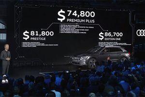 'Soi' SUV Audi e-tron chạy điện, giá từ 1,72 tỷ đồng