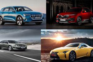 Loạt xe mới cùng ôtô Vinfast ra mắt tại Paris Motor Show 2018