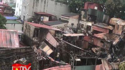 Hà Nội: 21 hộ dân bị thiệt hại về tài sản của vụ hỏa hoạn