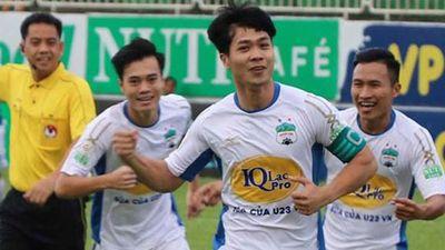 HAGL vs CLB Hà Nội: Công Phượng, Văn Toàn đá chính