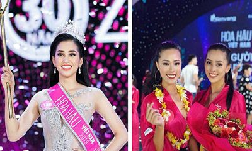 Hoa hậu Trần Tiểu Vy được trang tin xứ Hàn tán dương nhan sắc