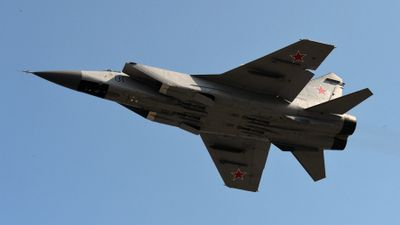 Chiến đấu cơ Nga rơi không lâu sau khi cất cánh