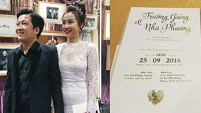 Đám cưới Trường Giang - Nhã Phương: Cái kết đẹp cho cuộc tình sóng gió