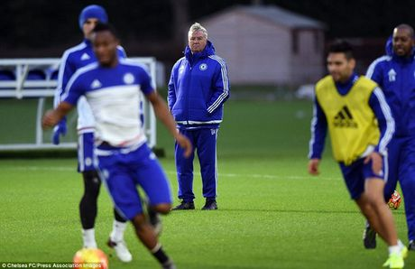 Chelsea se nhanh chong vo mong voi Hiddink - Anh 1