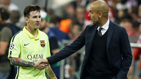 Keo Barca vs Man City: Messi 'bat nat' Pep Guardiola - Anh 1