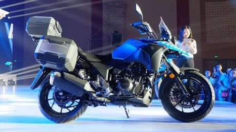 Suzuki V-Strom DL250 Concept 2017 'nha hang' tai Trung Quoc - Anh 1