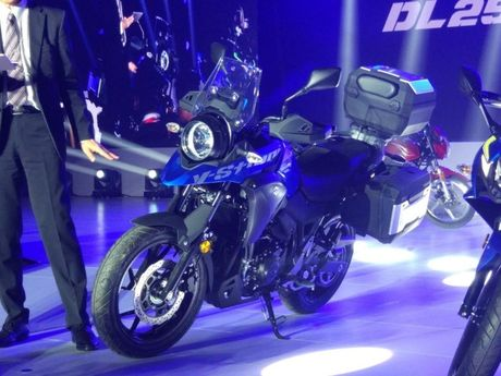 Suzuki V-Strom DL250 Concept 2017 'nha hang' tai Trung Quoc - Anh 2