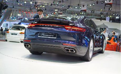 Porsche Panamera Turbo 2017 ve Viet Nam gia 10,7 ty dong - Anh 3