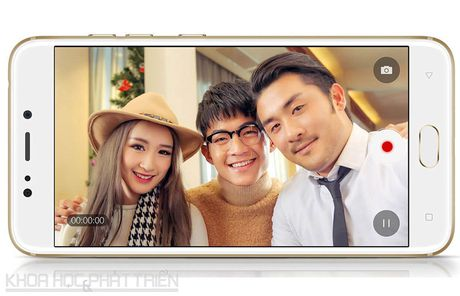 Can canh smartphone camera kep, cam bien van tay, RAM 4 GB - Anh 21