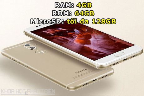 Can canh smartphone camera kep, cam bien van tay, RAM 4 GB - Anh 2