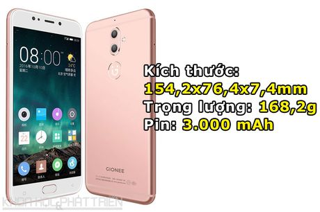 Can canh smartphone camera kep, cam bien van tay, RAM 4 GB - Anh 3