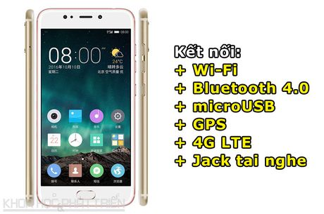 Can canh smartphone camera kep, cam bien van tay, RAM 4 GB - Anh 4