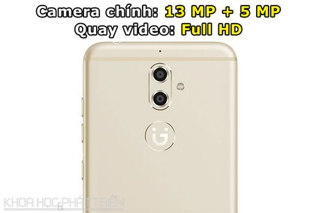 Can canh smartphone camera kep, cam bien van tay, RAM 4 GB - Anh 6