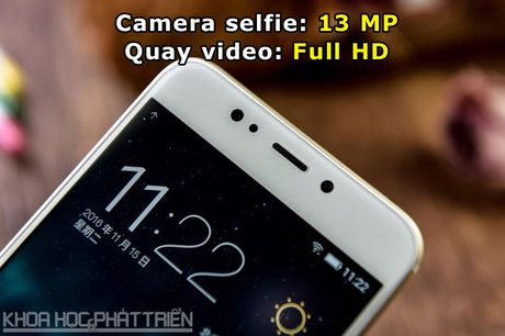 Can canh smartphone camera kep, cam bien van tay, RAM 4 GB - Anh 7