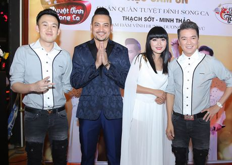 Quan quan 'Tuyet dinh song ca' bo nghe hat lo to de chay show cung Mr Dam - Anh 1