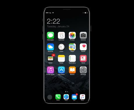 iPhone 8: co phien ban Anniversary Edition, ho tro sac khong day - Anh 1