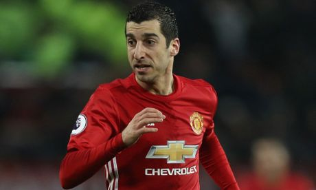 Ly do Mkhitaryan vang mat truoc Saint-Etienne - Anh 1