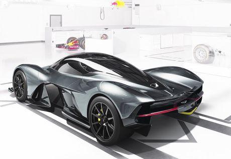 Sieu xe đắt nhất thế giớ Aston Martin AM-RB 001 dùng động cơ gì ?