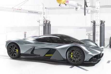 Sieu xe đắt nhất thế giới Aston Martin AM-RB 001 nội thất như thế nào ?