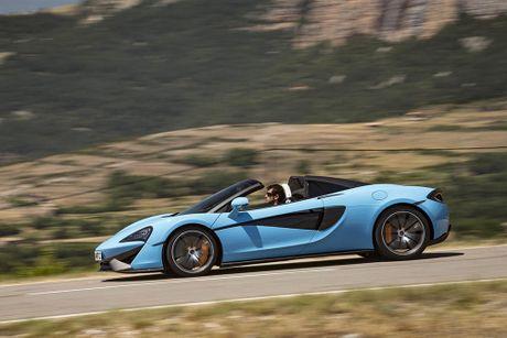 Ve dep thuc te sieu xe mui tran McLaren 570S Spider - Anh 10