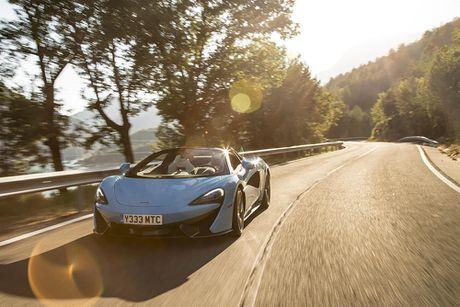 Ve dep thuc te sieu xe mui tran McLaren 570S Spider - Anh 11