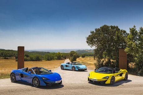 Ve dep thuc te sieu xe mui tran McLaren 570S Spider - Anh 3
