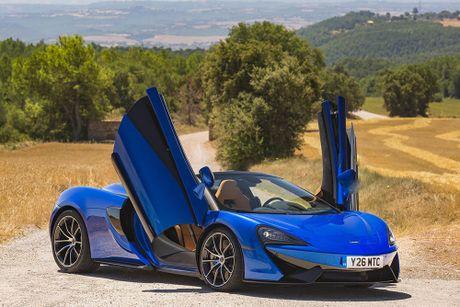 Ve dep thuc te sieu xe mui tran McLaren 570S Spider - Anh 5