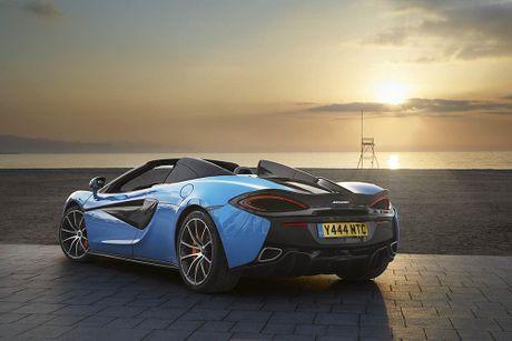 Ve dep thuc te sieu xe mui tran McLaren 570S Spider - Anh 8