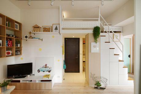Mẫu thiết kế căn hộ nhỏ 45 m2 đầy đủ tiện ích