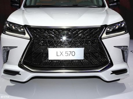 Lexus ban tai Trung Quoc 150 chiec LX570 Superior gia chat - Anh 7