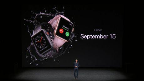 Apple chinh thuc ra mat Apple Watch series 3: gia tu 329 USD - Anh 10