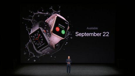 Apple chinh thuc ra mat Apple Watch series 3: gia tu 329 USD - Anh 11