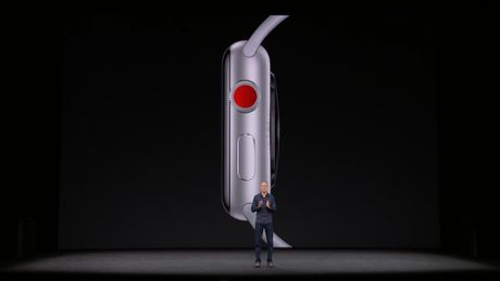 Apple chinh thuc ra mat Apple Watch series 3: gia tu 329 USD - Anh 1
