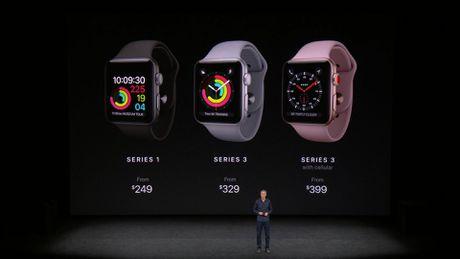 Apple chinh thuc ra mat Apple Watch series 3: gia tu 329 USD - Anh 9